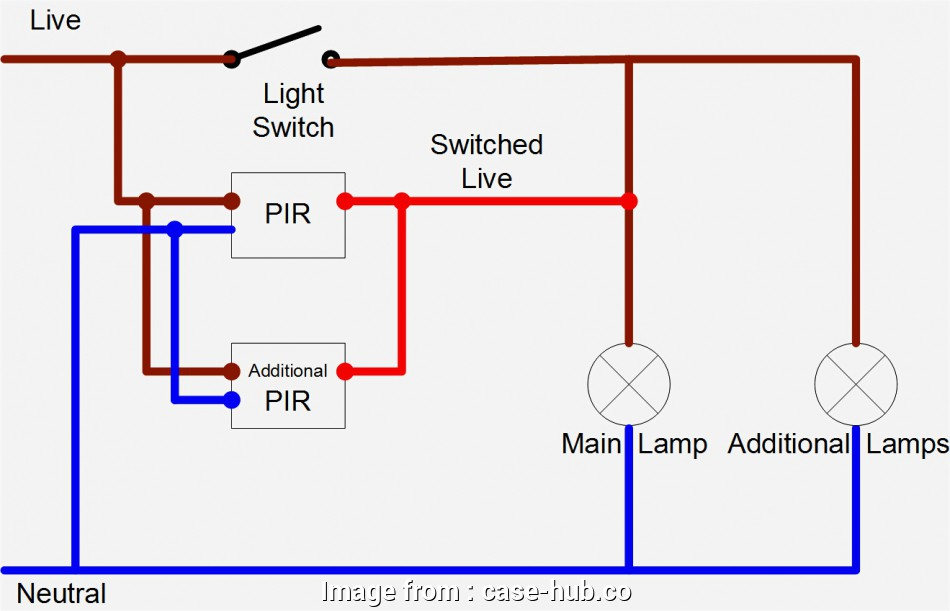 Light Switch Wire Diagram Uk Most Pir Switch Wiring