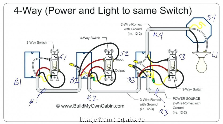 Light Switch Wiring 4 Gang Cleaver Wiring Diagram, 4 Gang ... on