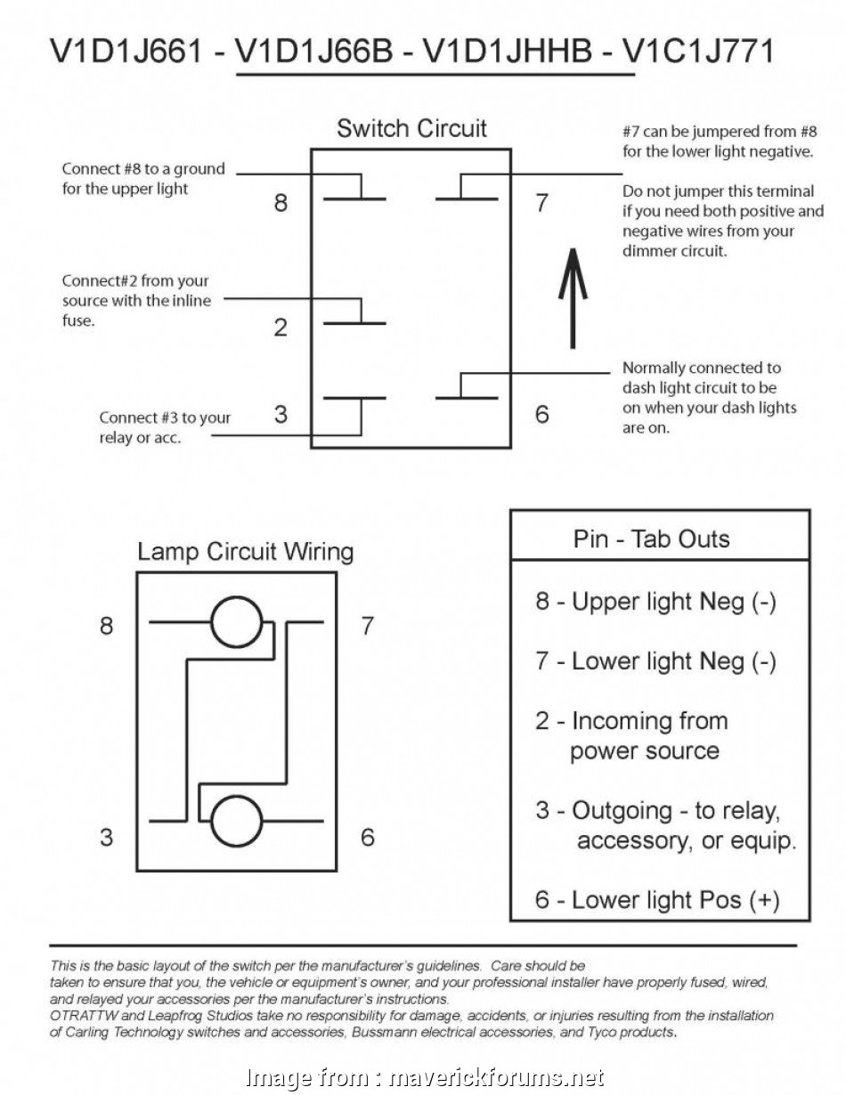 light bar switch wiring diagram How to wire a rocker switch, 40