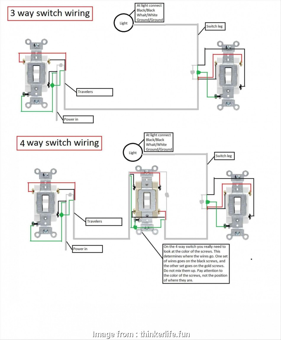Light Switch Wiring Diagram Pdf New 3, Light Switch Wiring ... on