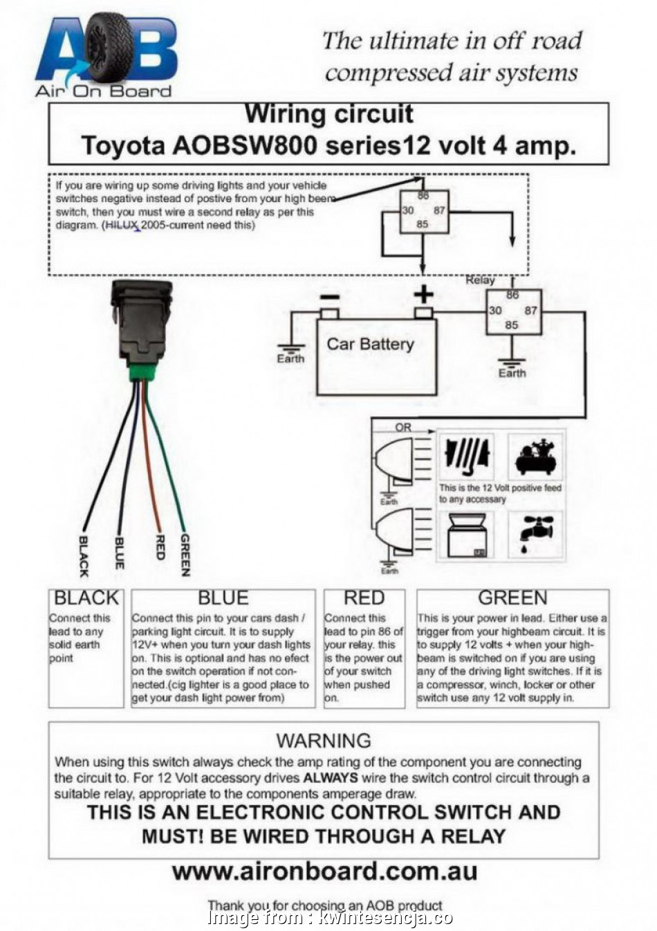 Light Switch  Wiring New Fog Light Wiring Diagram Toyota