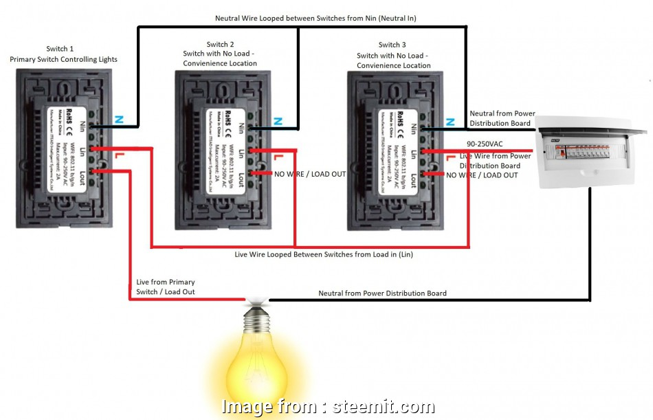 Wondrous Light Switch Wiring Neutral Wire Top Wiring Diagram Sonoff Itead Wiring 101 Cranwise Assnl