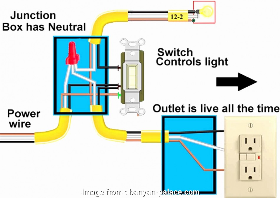 light switch wiring for outlet Wiring Diagram, Gfci Outlet, tryit.me on, light switch wiring diagram 15 Practical Light Switch Wiring, Outlet Images