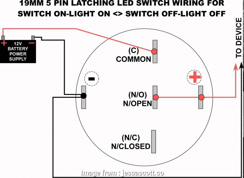 light switch wiring push in practical 19mm  latching