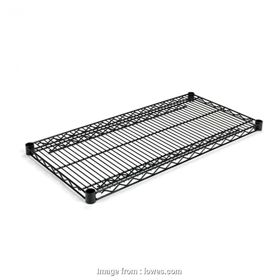 lowes wire shelving canada Shop Alera 1.57-in, 36-in, 18-in D 2-Shelf Steel 18 Popular Lowes Wire Shelving Canada Galleries
