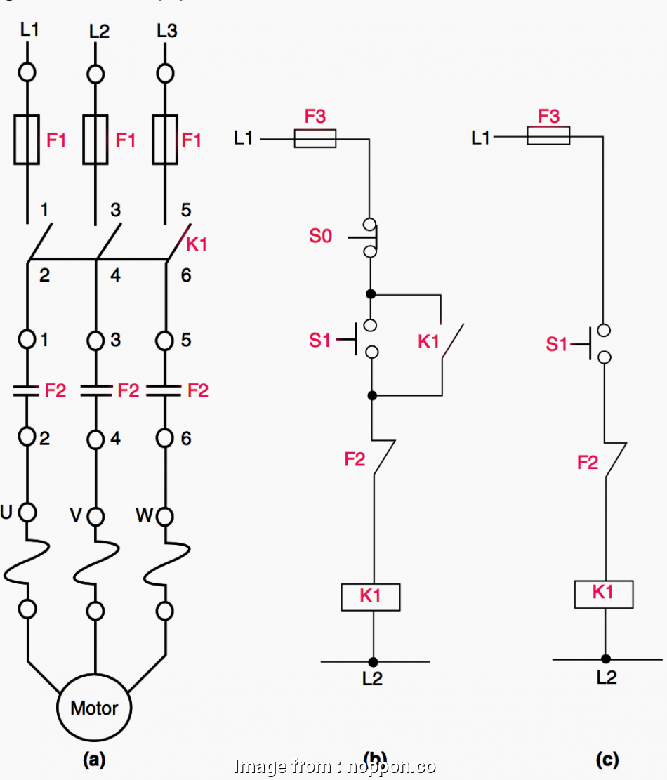 Phase Failure Relay Wiring Diagram 3 Phase Contactor Wiring Diagram