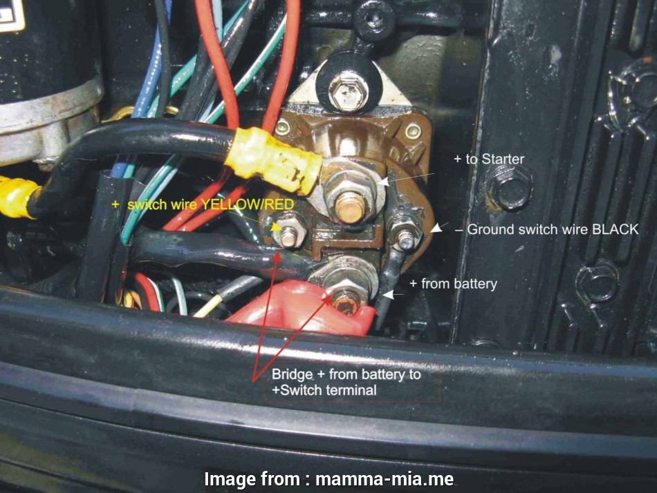 mercury outboard starter wiring diagram mercury outboard starter solenoid  wiring diagram natebird me at boat with