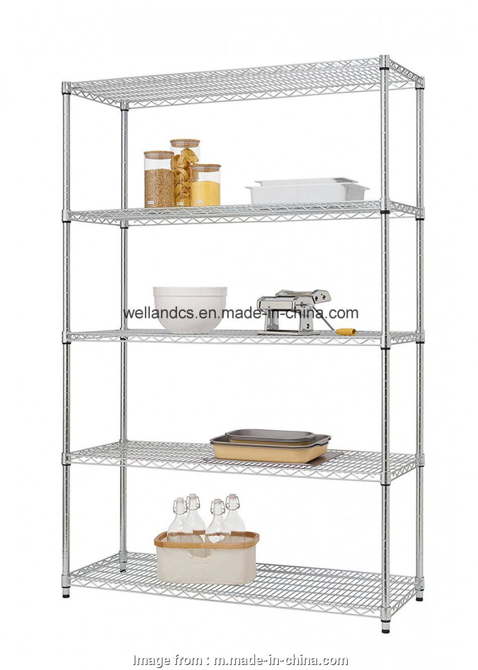 metal wire shelving accessories Basic 5 Shelf Heavy Duty, Chrome Steel Storage Wire Shelving 10 Best Metal Wire Shelving Accessories Ideas