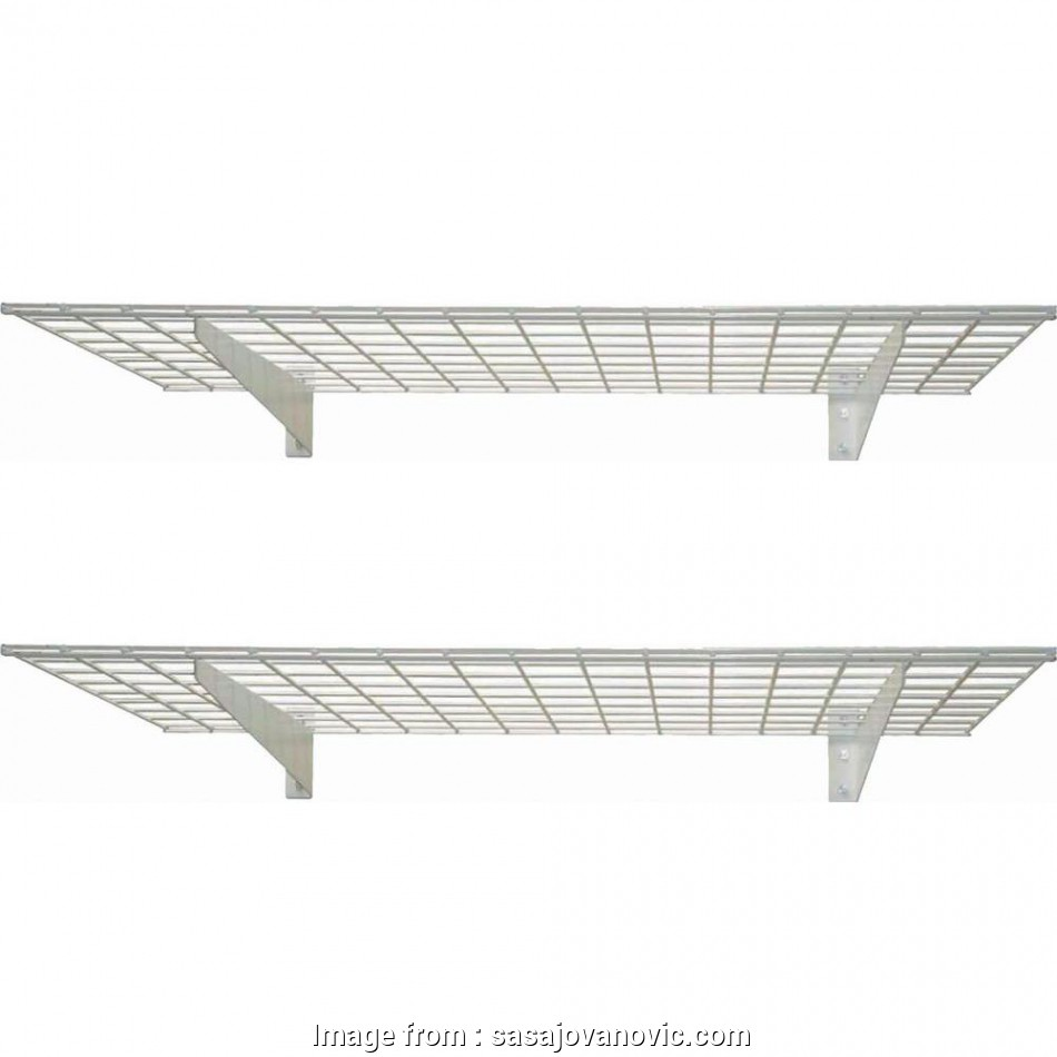 metal wire wall shelving Full Size of Lighting Decorative Wall Mounted Wire Shelving 5 White Hyloft Garage 00967 64 1000 10 Perfect Metal Wire Wall Shelving Images