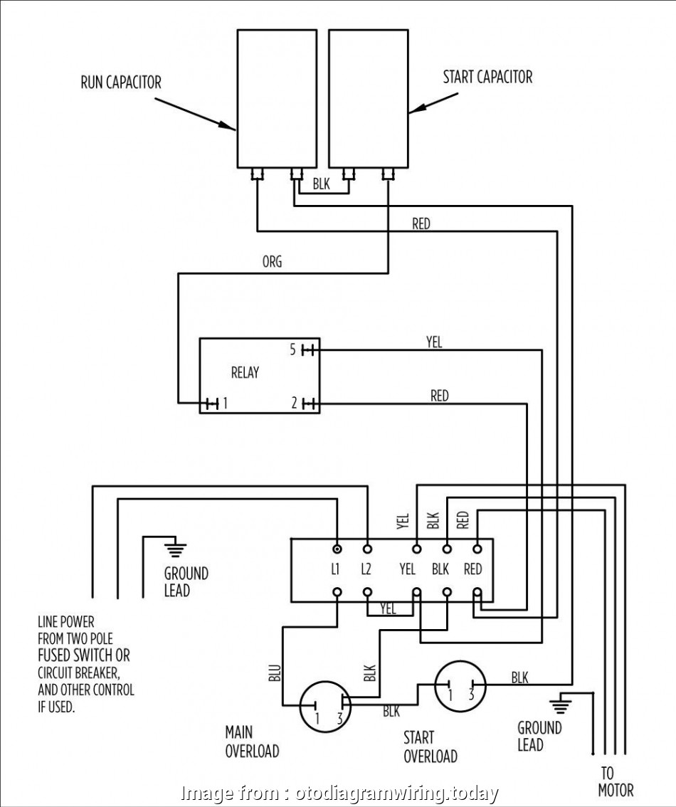 Motor Starter Wiring Diagram Pdf Practical Submersible