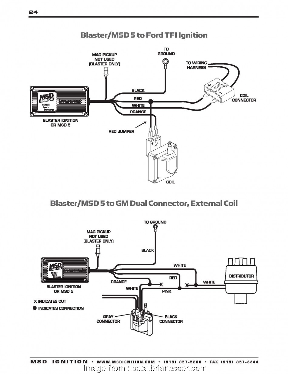 9 Cleaver Msd 6a Wiring Diagram Gm Images