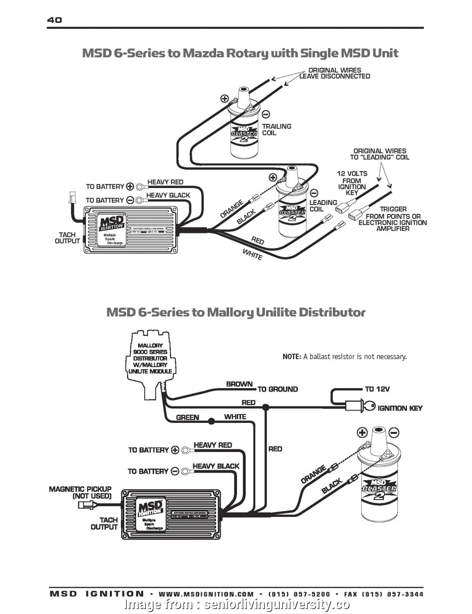 Msd 6Al Wiring Diagram Chevy Hei from tonetastic.info