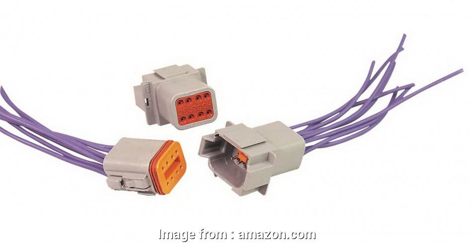 msd electrical wire connector kit Amazon.com:, 8185 Deutsch 8-Pin Electrical Wiring Connector: Automotive 18 Best Msd Electrical Wire Connector Kit Photos