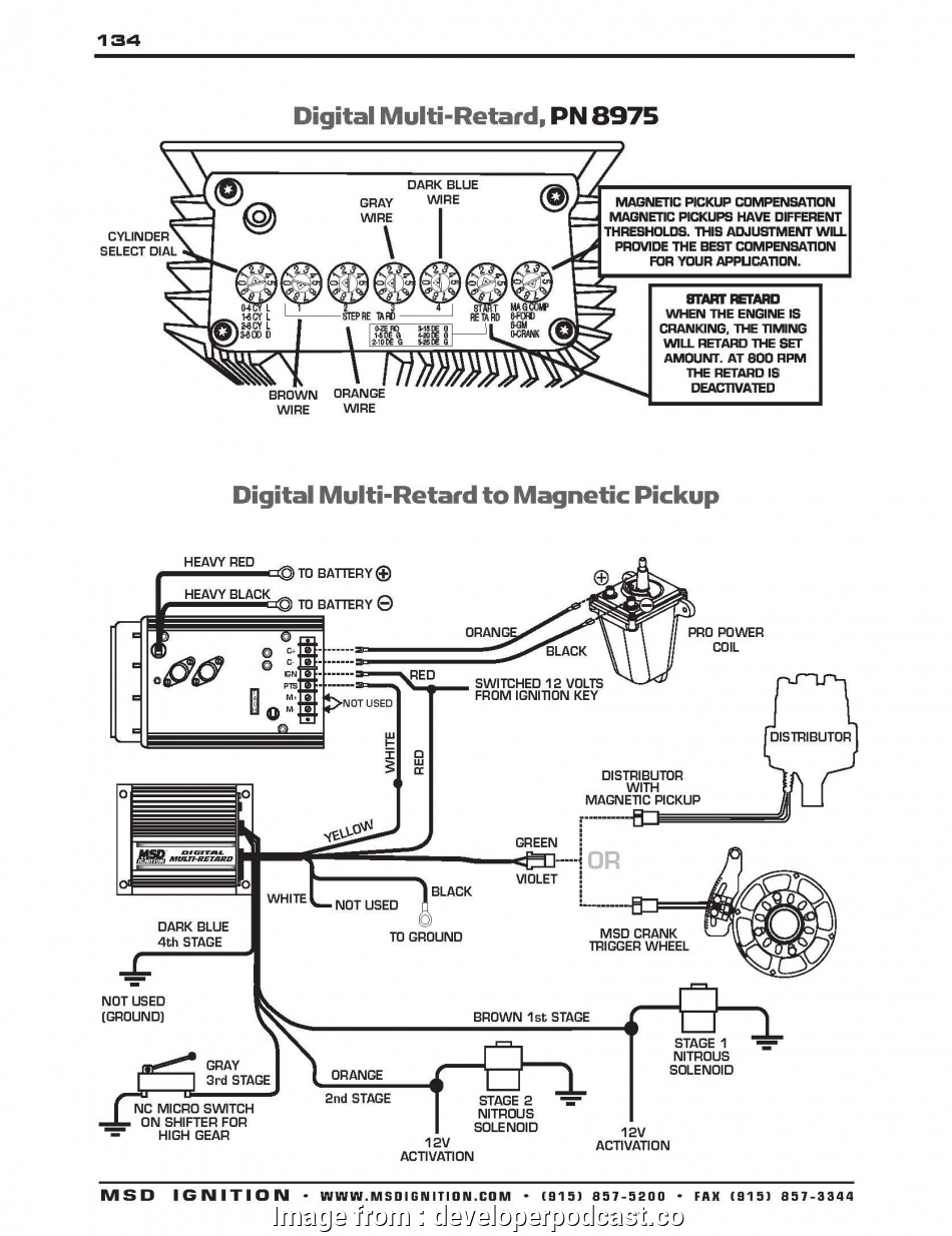 c2a msd 6al 6420 wiring diagram ford | wiring library  wiring library