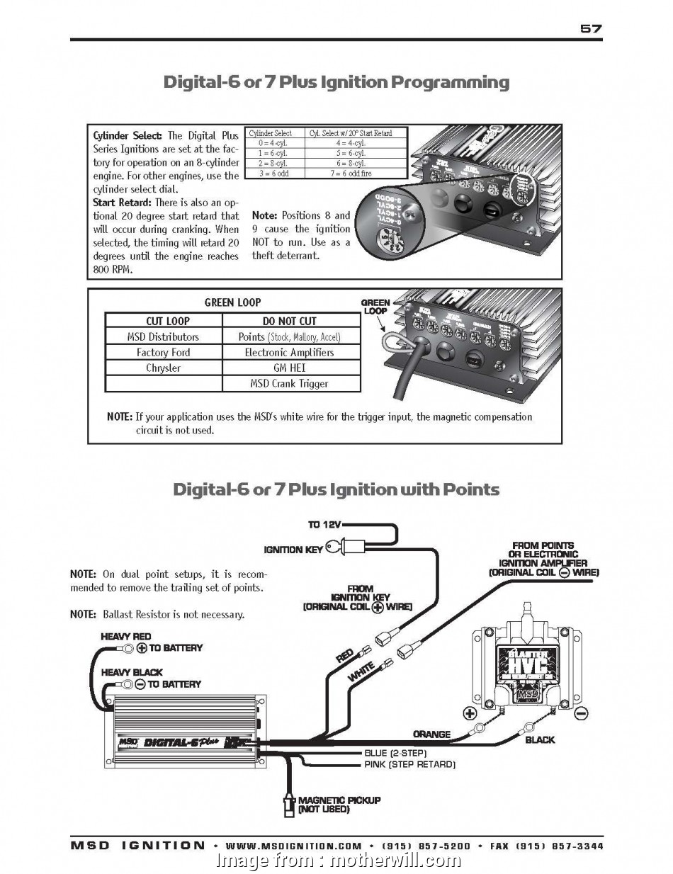 Msd, Ignition, Wiring Diagram Best Msd, Wiring Diagram, New ... on