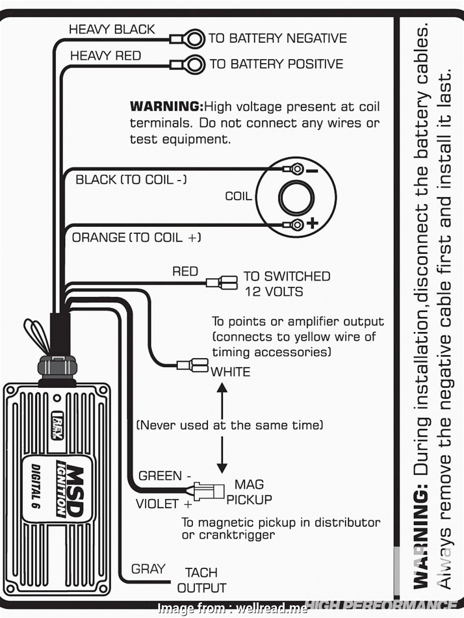 Msd  Part Number 6420 Wiring Diagram New Msd Ignition