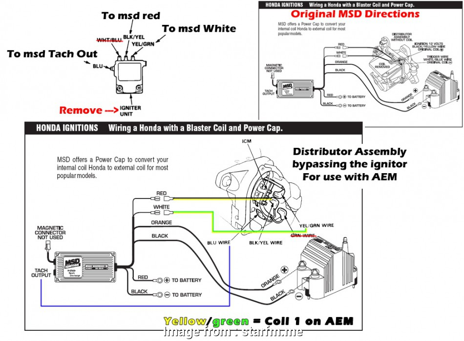 Msd  Part Number 6420 Wiring Diagram Top Msd Ignition