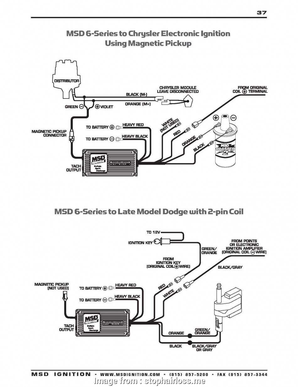 Msd  Part Number 6420 Wiring Diagram Cleaver Wiring