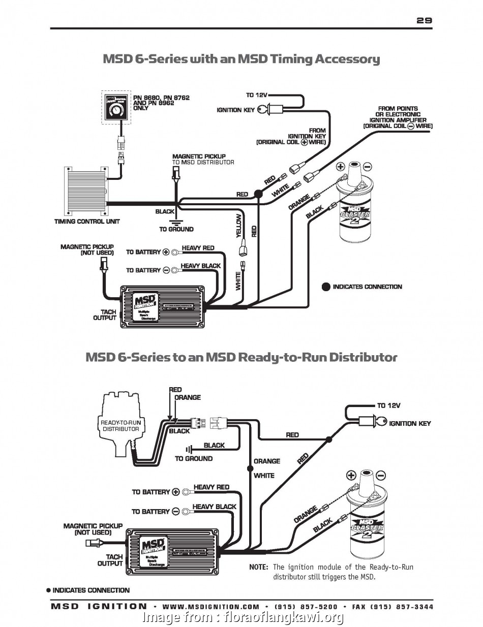 18 New Msd  Wiring Diagram With  Distributor Solutions