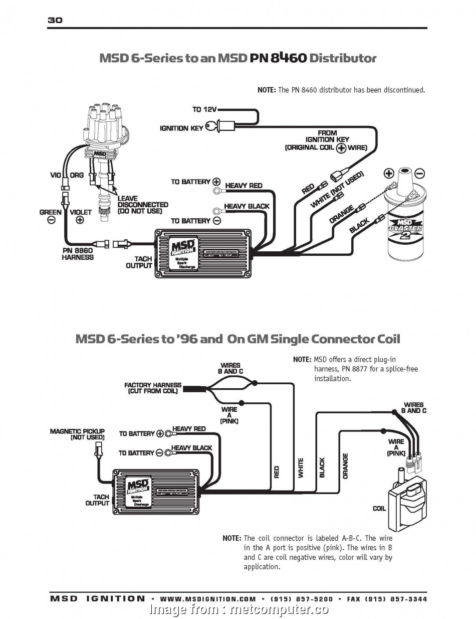 Msd  Wiring Diagram With  Distributor Brilliant Msd  Wiring Diagram Ford Mustang Ignition