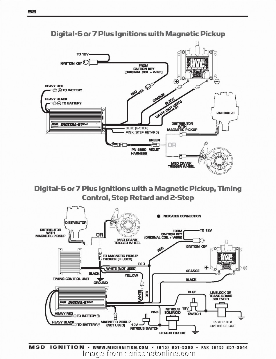 Msd  Wiring Diagrams Popular Msd 6a Wiring Diagram Lovely