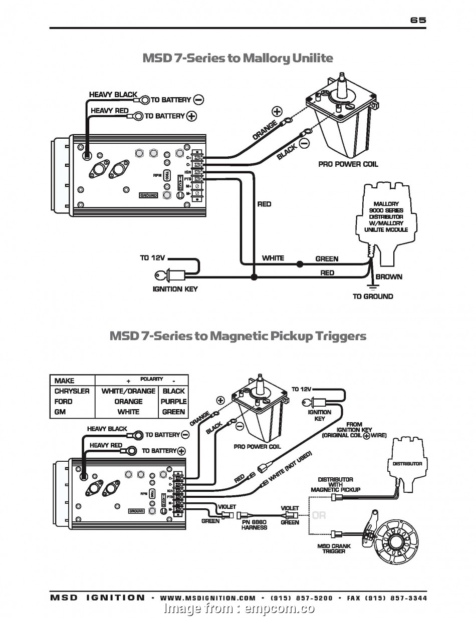 Msd  Wiring Diagrams New Msd  Wiring Diagram  Ignition
