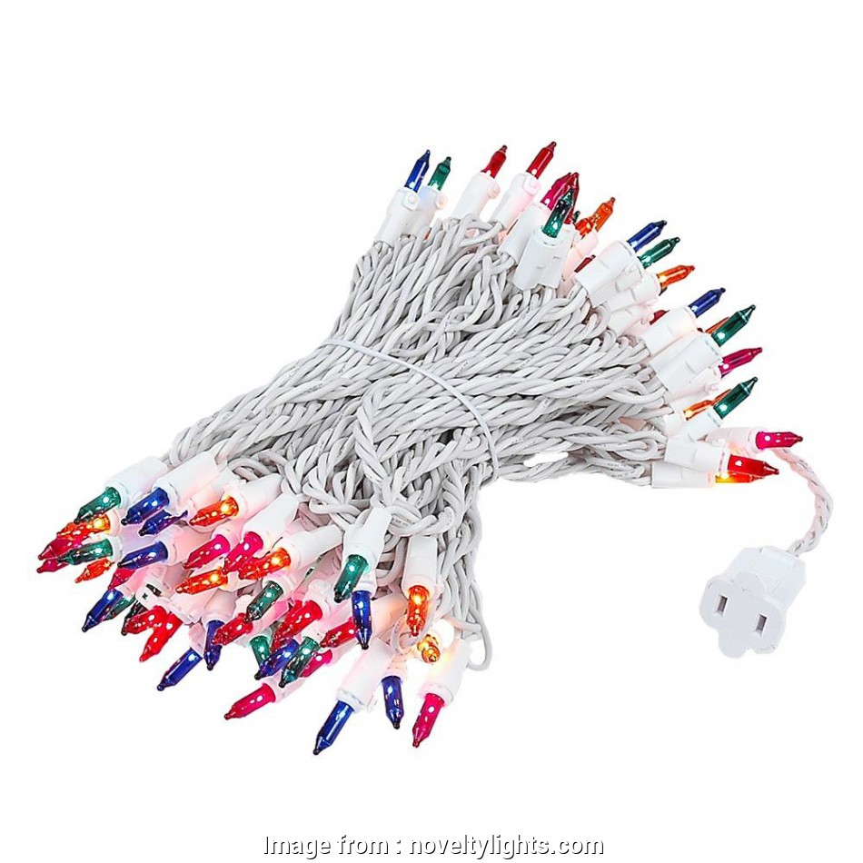 multi colored christmas lights with white wire ... Picture of, Light, Long White Wire Multi Christmas Mini Lights 19 Cleaver Multi Colored Christmas Lights With White Wire Photos