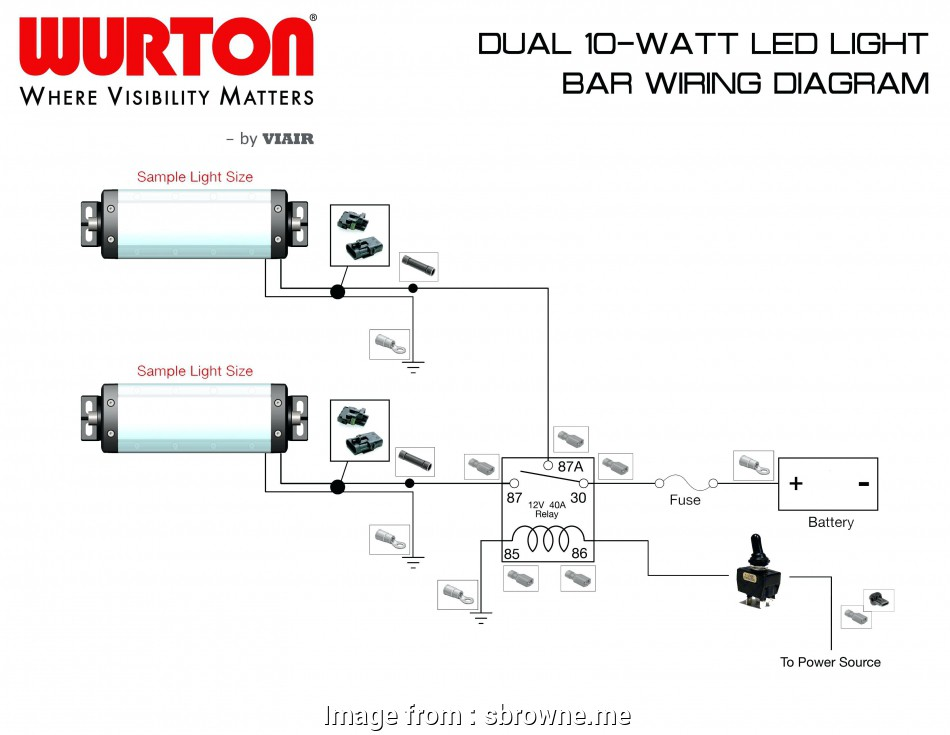 Narva Light Switch Wiring Diagram Professional Wiring Diagram, Led on