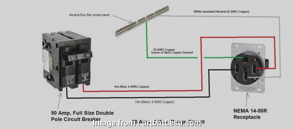 Nema 6 50 Wire Gauge Practical Nema 14  Wiring Diagram