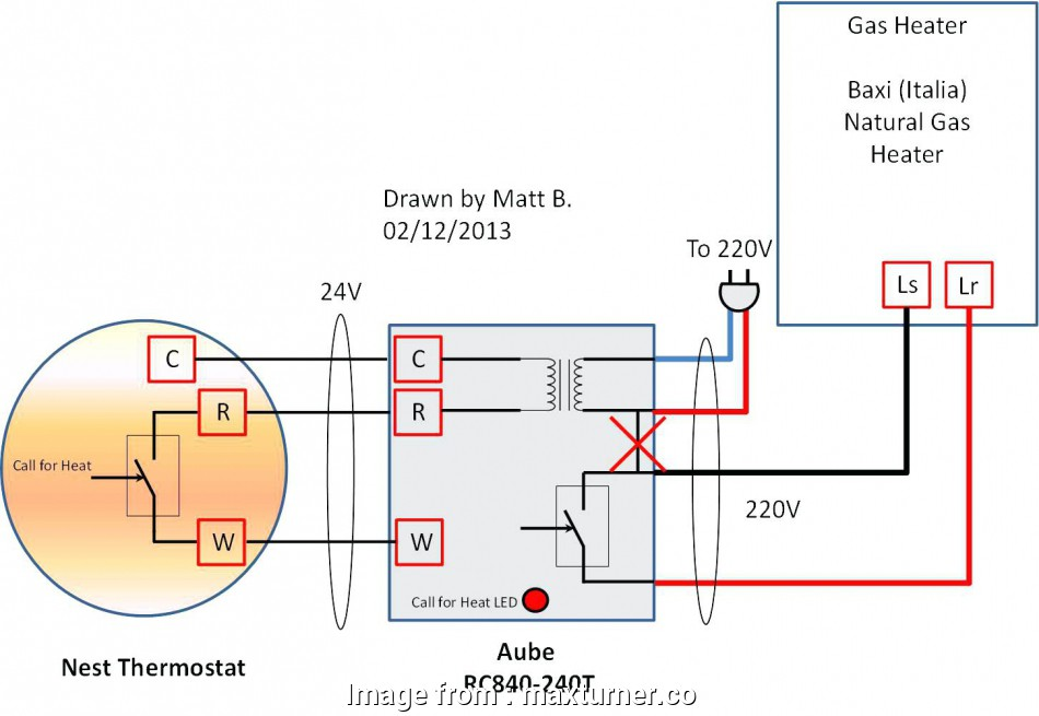 Nest Thermostat, 3 Wiring Diagram Creative Turn, Power With ... on