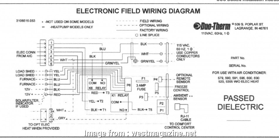 Nest Wiring Diagram  Conditioner Cleaver Dometic Rv