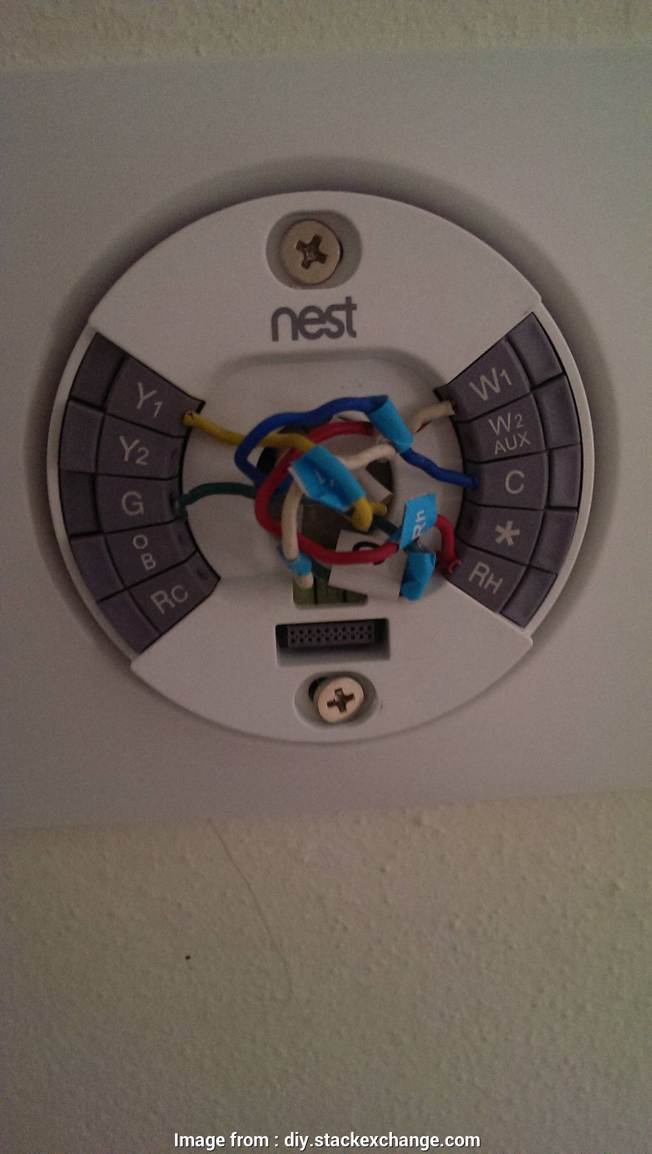 Nest Wiring Diagram Hvac - Technical Diagrams on
