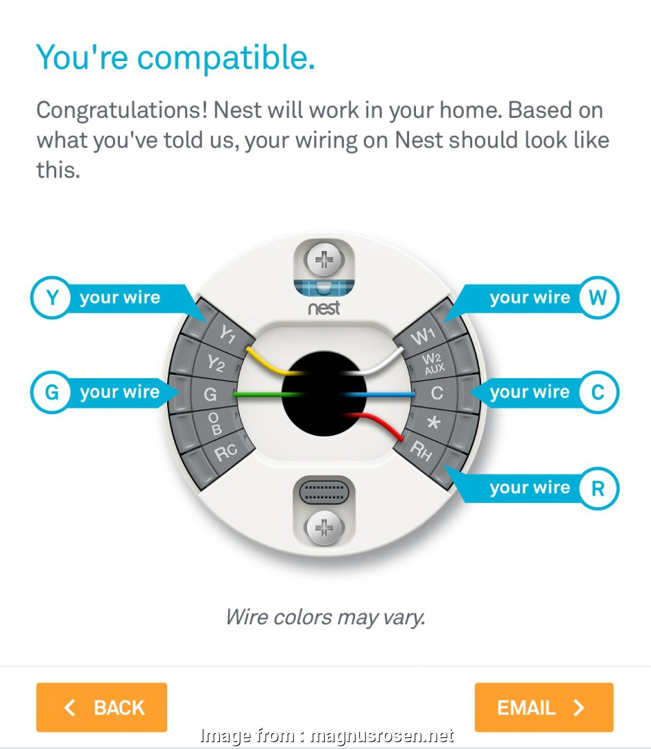Nest Wiring Diagram  Humidifier New Thermostat Nest Wiring