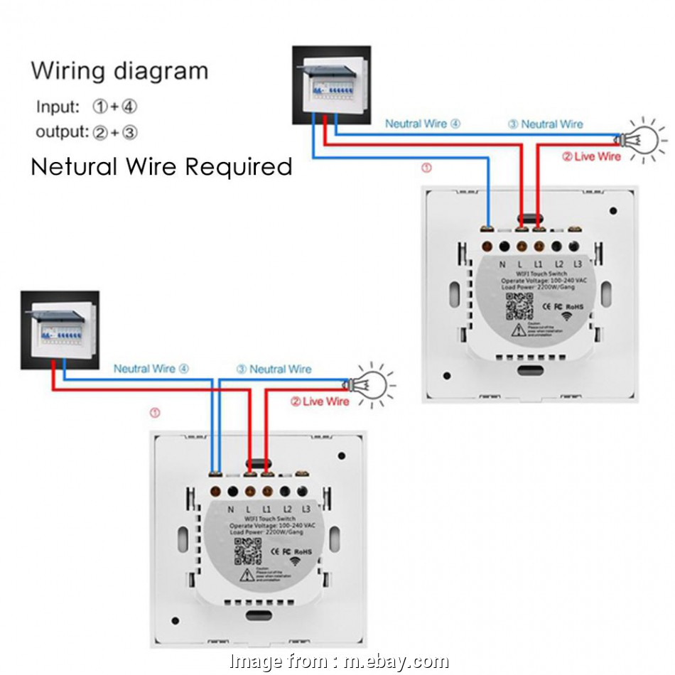Neutral Wire Light Switch Uk Brilliant Details About Sonoff