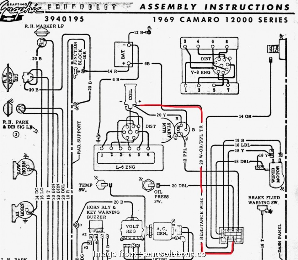 Old Gm Starter Wiring Diagram Professional 1969 Camaro