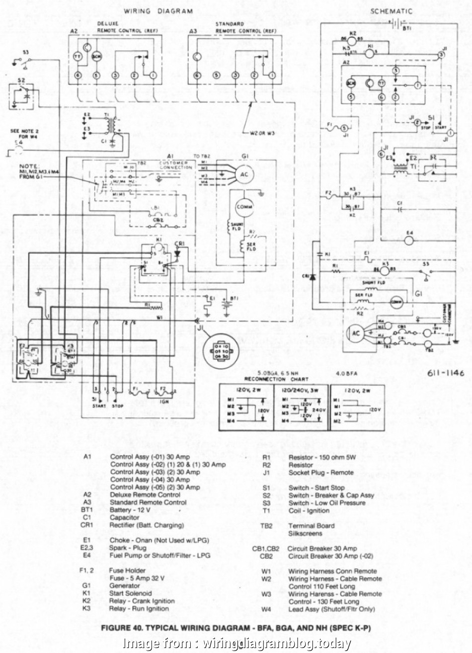 on 4 wire wiring diagram onan sel generator