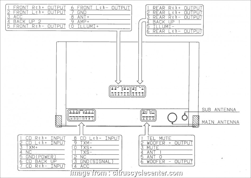 15 Practical Pioneer  P4400 Wiring Diagram Collections
