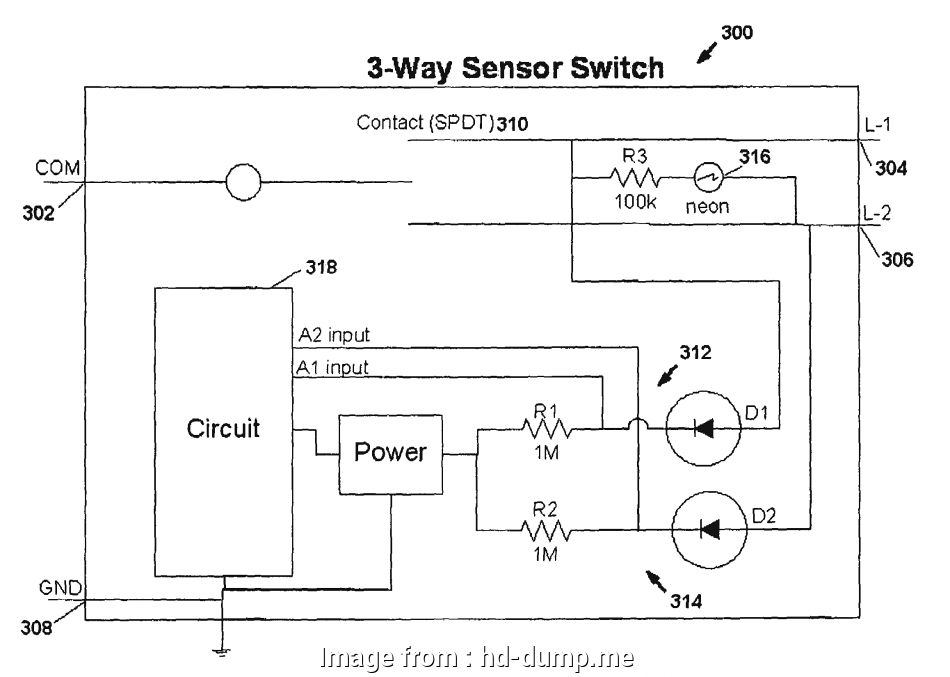 Pir Light Switch 2 Wire Most Charming  Sensor 2wire Wiring Diagram Images Schematic Symbol