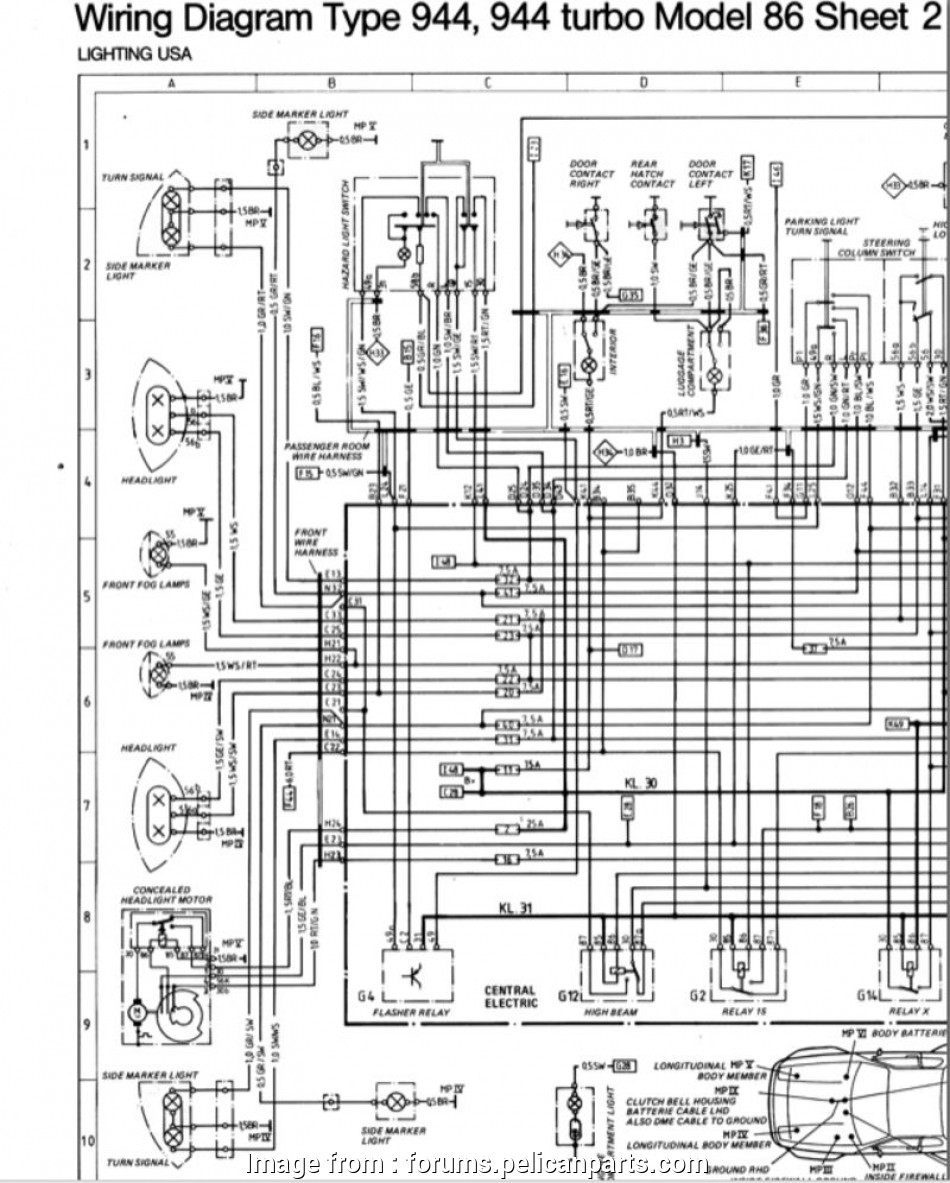 porsche 944 starter wiring diagram Side Marker Light, Reading Wiring Diagrams?, Pelican Parts Forums 15 Nice Porsche, Starter Wiring Diagram Pictures