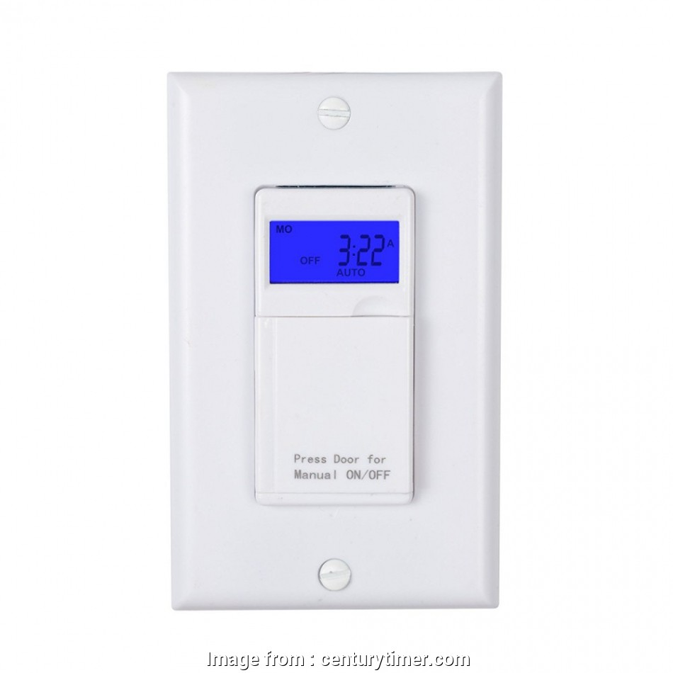 Programmable Light Switch Without Neutral Wire Professional