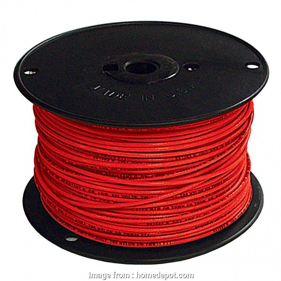 red electrical wire buy Southwire, ft. 2, Stranded CU SIMpull THHN Wire 11 Creative Red Electrical Wire Buy Images