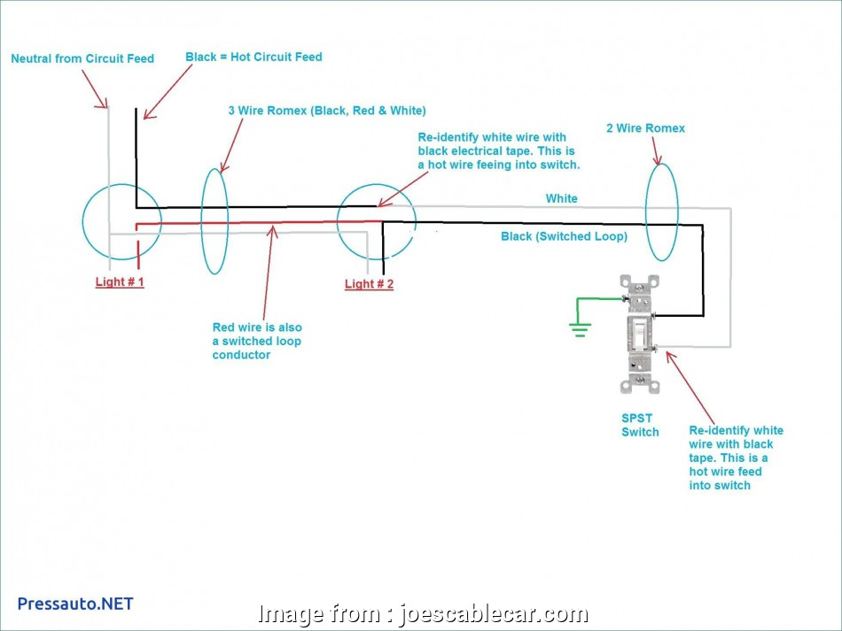 Red Wire To Light Switch Best Light Switch Wiring Diagram