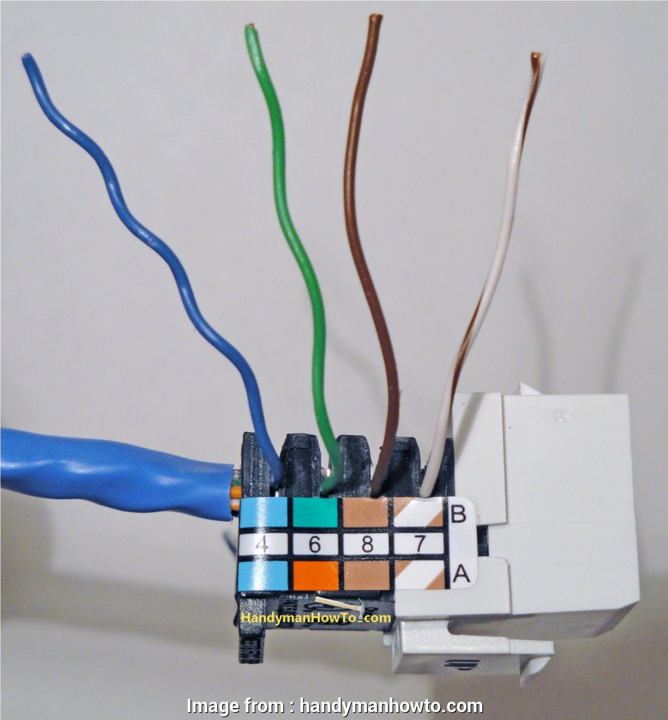 rj45 wall plug wiring diagram How to Install an Ethernet Jack, a Home Network Rj45 Wall Plug Wiring Diagram Cleaver How To Install An Ethernet Jack, A Home Network Collections