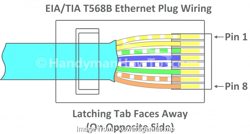Cat5E Wiring Diagram Wall Plate from tonetastic.info