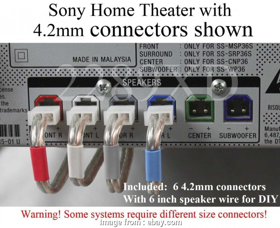 samsung speaker wire gauge 6c 4.2mm speaker cable/wire plug/connectors made, Select Sony home theater 713650522180, eBay Samsung Speaker Wire Gauge Practical 6C 4.2Mm Speaker Cable/Wire Plug/Connectors Made, Select Sony Home Theater 713650522180, EBay Photos