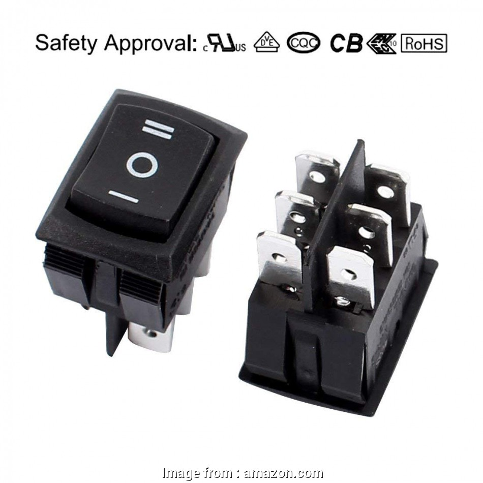 Shop  Toggle Switch Wiring Best Amazon Com  Uxcell 10