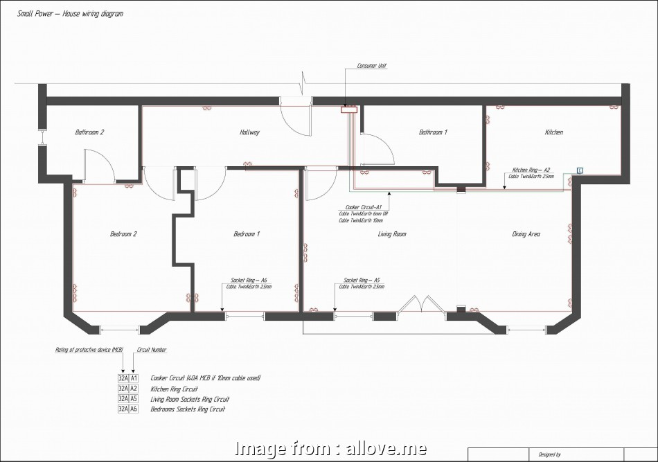 simple electrical wiring diagram for home Basic House Wiring Diagram, Best Simple Electrical Throughout Home 8 Most Simple Electrical Wiring Diagram, Home Photos