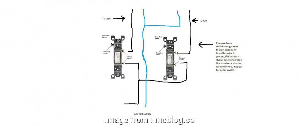 Single Pole Combination Switch Wiring Diagram Cleaver