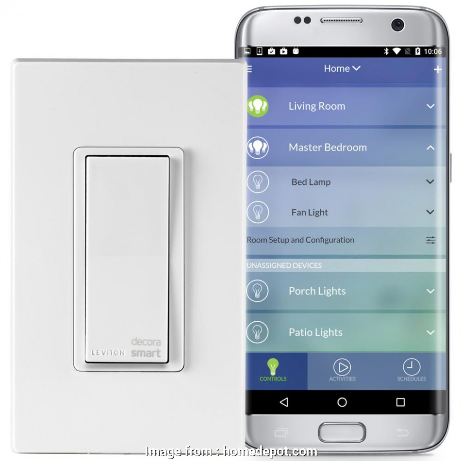 Smart Light Switch No Neutral Wire Popular Leviton Decora Smart Wi  Switch  No  Required