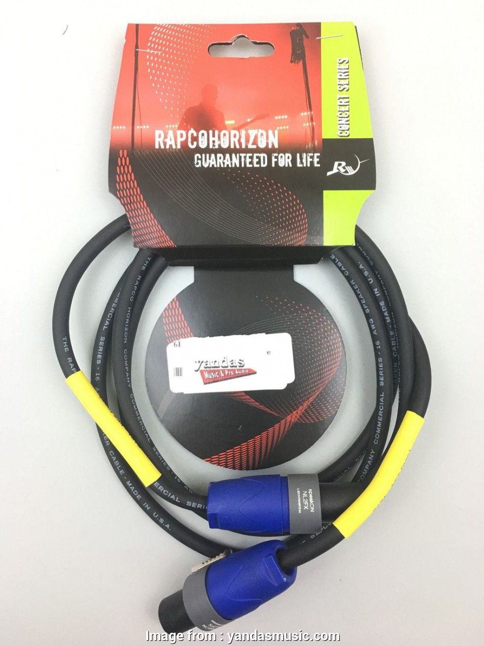 speaker wire 6 gauge Rapco 6' 16 Gauge Speaker Cable, Speakon Connectors 11 Best Speaker Wire 6 Gauge Solutions